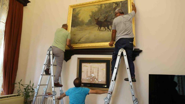 Tarihi tablolar evine döndü