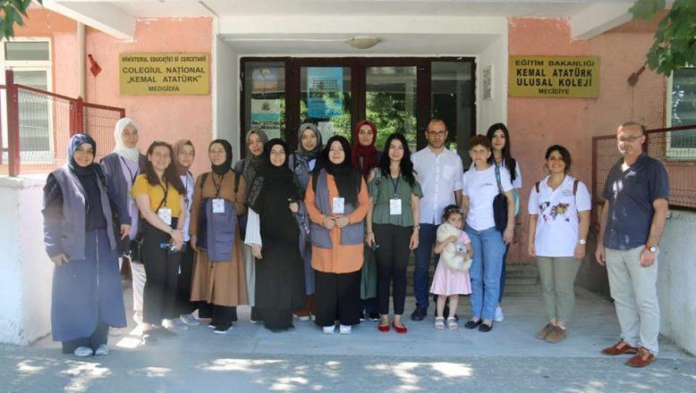 TİKA gönüllüleri Mecidiye'de hastane tadilat çalışmalarına katıldılar