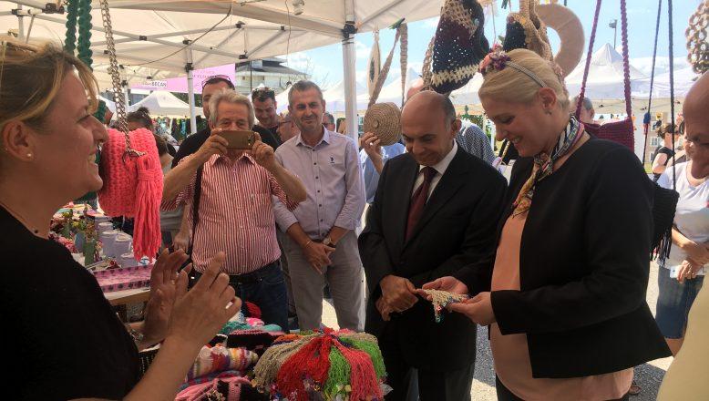 Uzunköprü'de Kadın Emek Pazarı açıldı