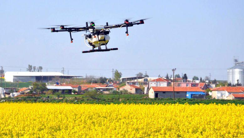 Sivrisinekler, drone ile ilaçlanacak