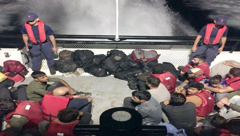 Lastik botta 41 göçmen
