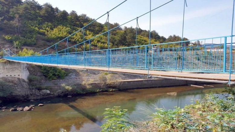 Kırcaali'de Kompozit Ahşap Deck Sistemli İlk Köprü Hizmete Açıldı
