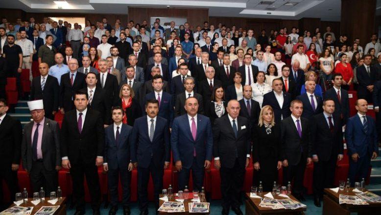 Çavuşoğlu: Makedonya Türklerinin Başarılarıyla Gurur Duyuyoruz