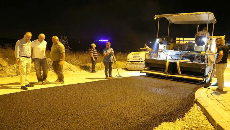 Gürkan'dan asfalt sitemi