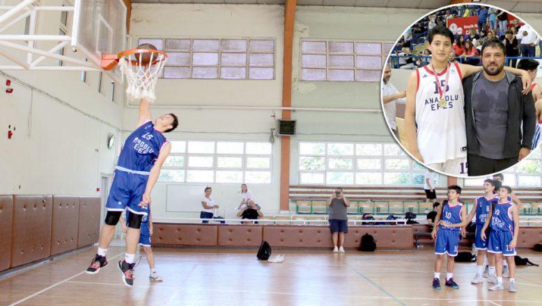 Hayallerini NBA süslüyor
