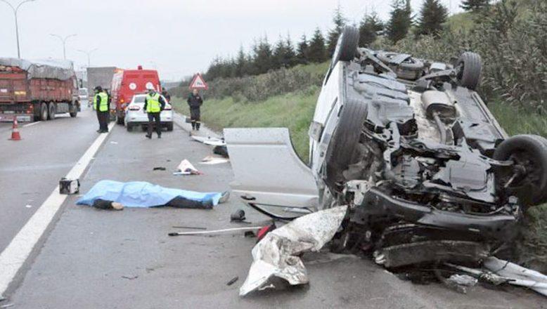 Bulgaristan, trafik kazalarında AB'de birinci