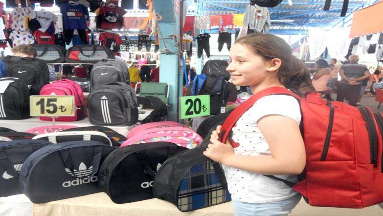 Okul çantası satışları durgun