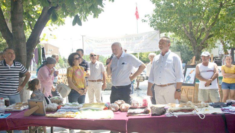 """Enez'de """"Emek ve Lezzetleri Etkinliği"""" düzenlendi"""