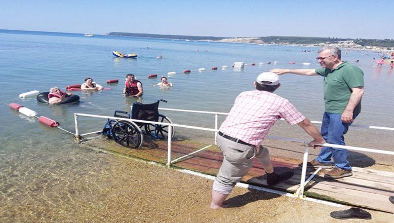 Engelsiz Plaja ilgi artıyor