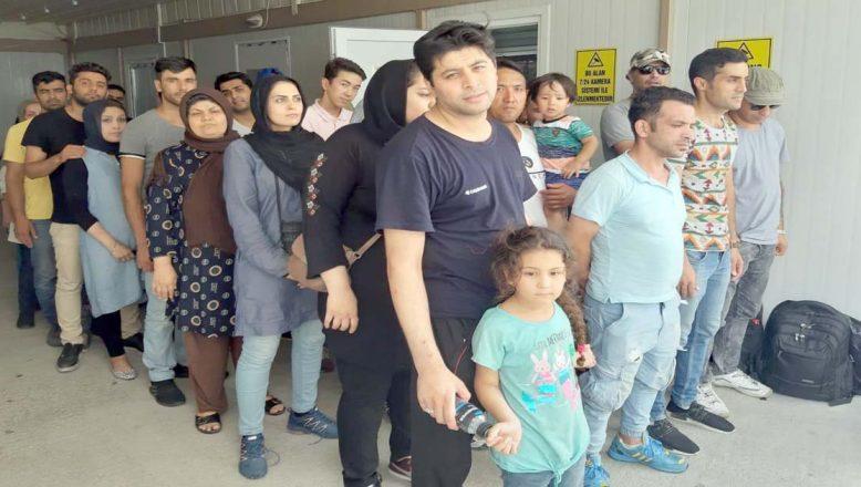 Edirne'de 40 göçmen yakalandı