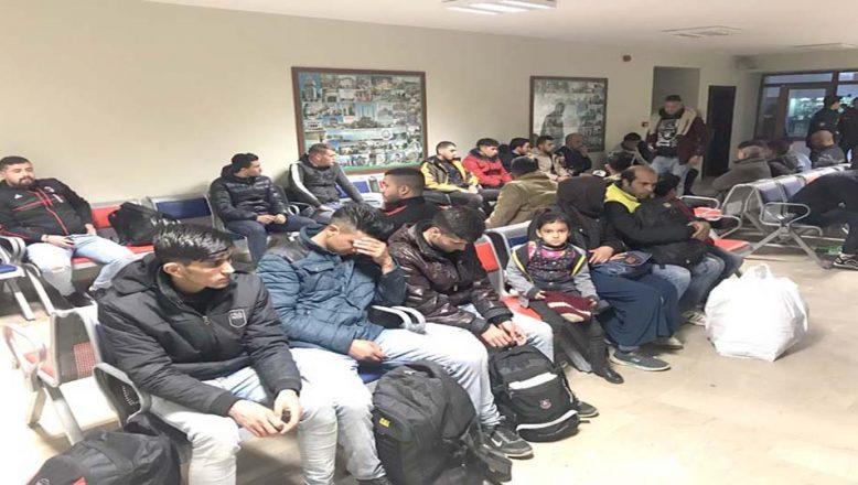 8 ayda 235 bin göçmen yakalandı