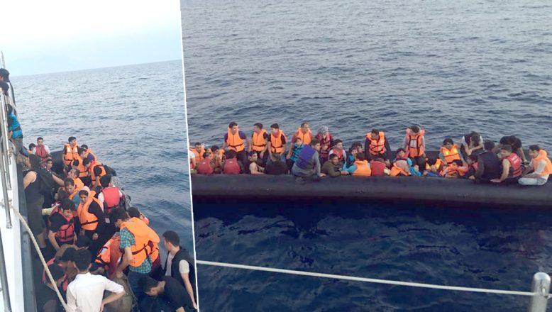 Ege Denizi'nde göçmen akını