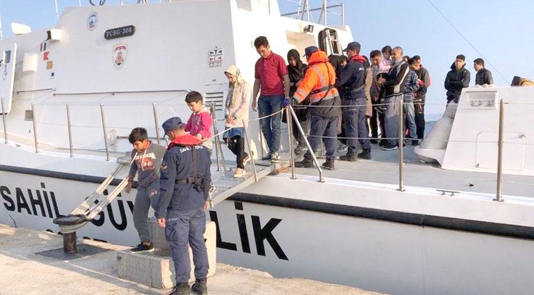 Lastik botta 42 göçmen