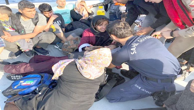 Lastik botta 65 göçmen