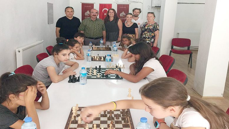 Satranç atölyesi turnuvayla sona erdi
