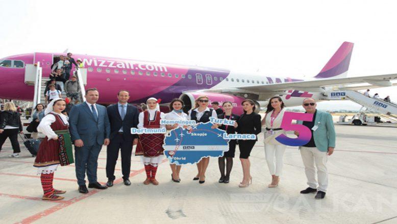 Üsküp ve Ohri Havalimanlarında yeni seferler açıldı