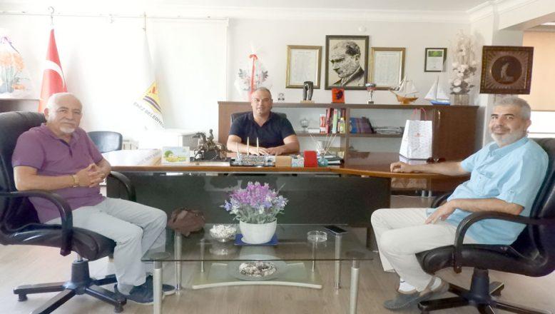 TGD'den Başkan Günenç'e ziyaret