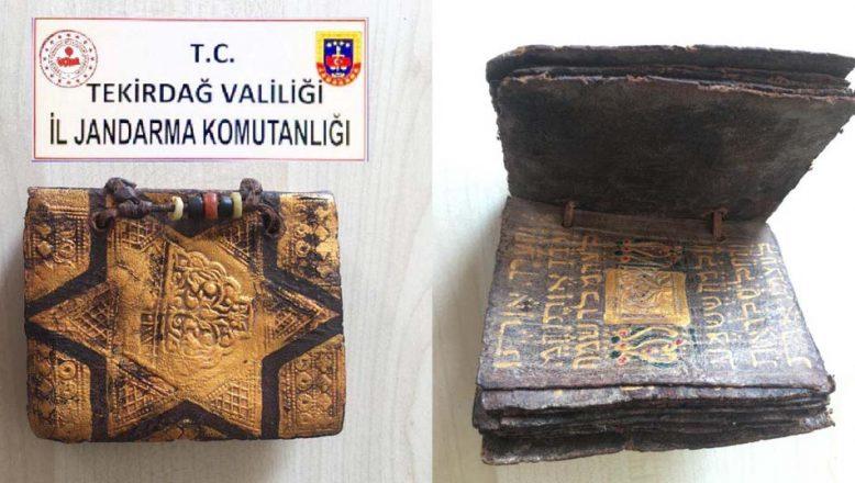 Tekirdağ'da yakalandı; tam bin 500 yıllık