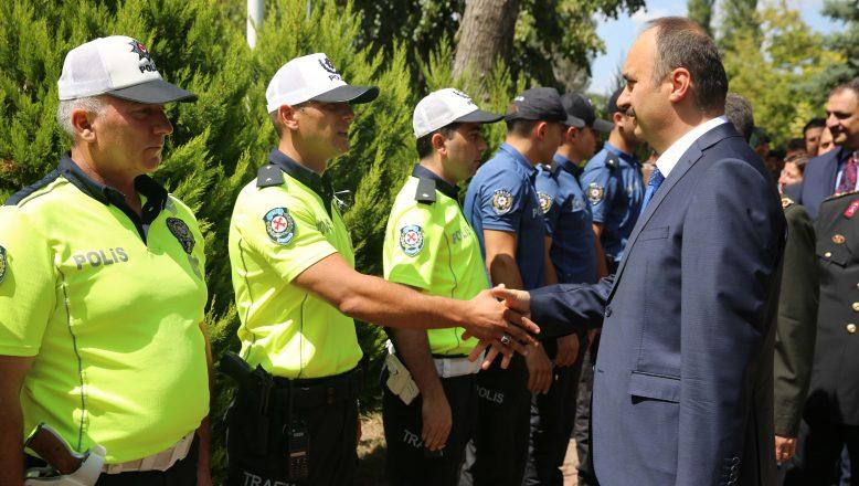Edirne Valisi Canalp'ten bayram ziyaretleri