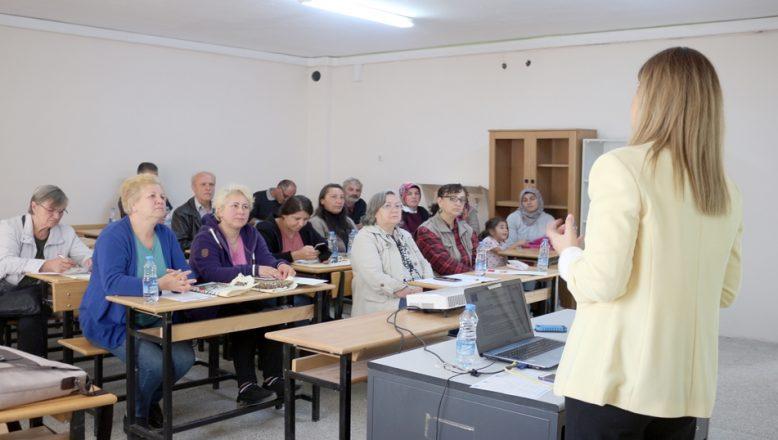 Yerel tarımsal üreticilere eğitim
