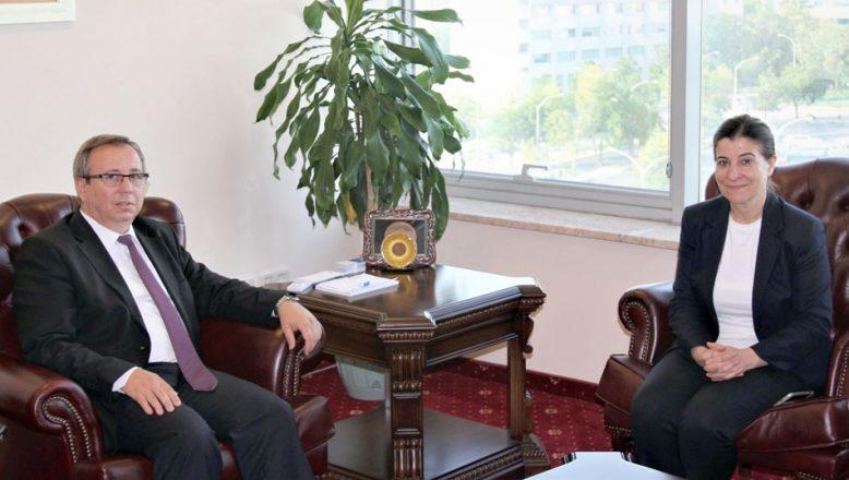 Aksal'dan Rektör Tabakoğlu'na ziyaret