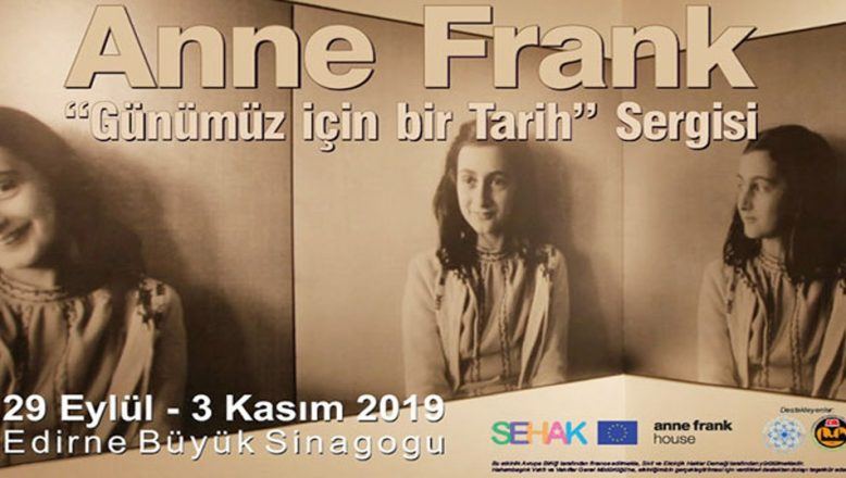 Anne Frank Sinagog'a geliyor