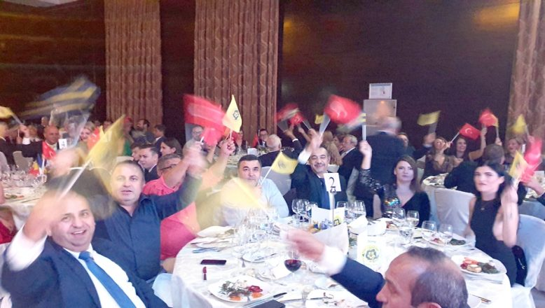 Bükreş'te Fenerbahçe coşkusu