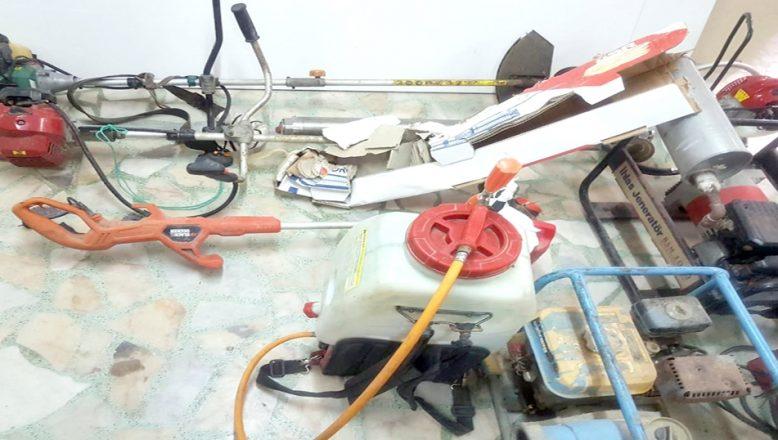 Tekirdağ'da bağ evlerinden tarım makinesi hırsızlığı