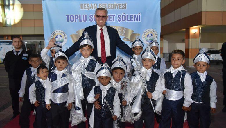 Keşan Belediyesi'nin Sünnet Şöleni gerçekleştirildi