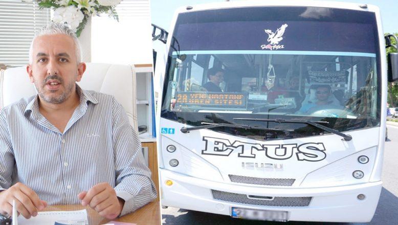 ETUS, 65 yaş ve üzeri ücretsiz binişi sona erdiriyor