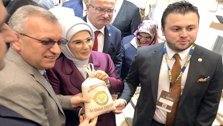 Erdoğan'a İpsala pirinci
