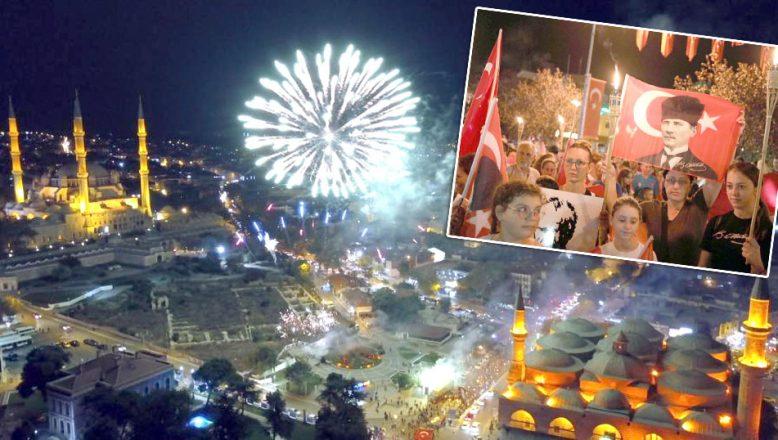 Büyük mücadelenin izleri Edirne'de yaşatıldı