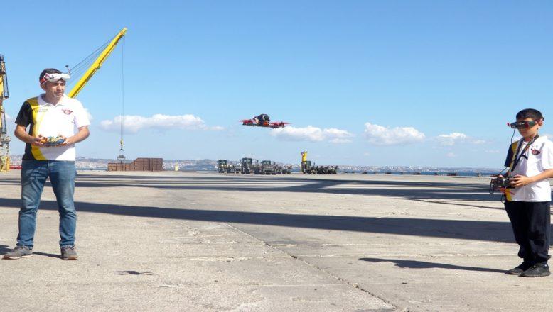 Limanda drone yarışı