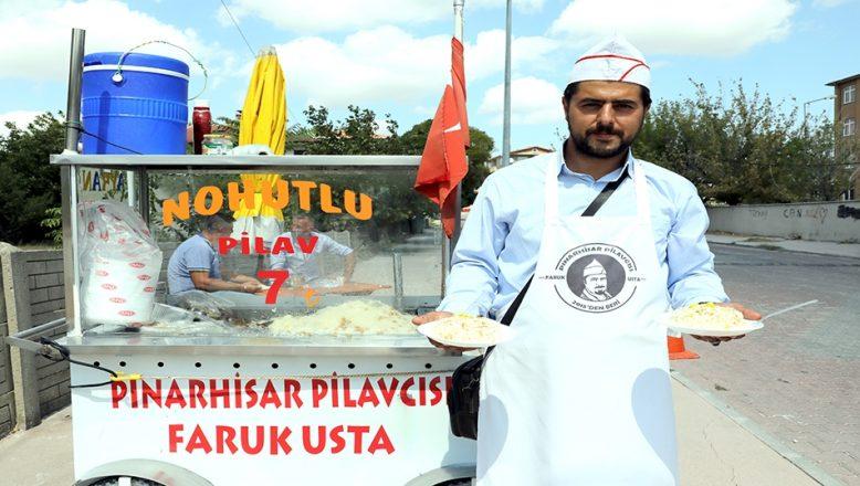 """Pilavcı Faruk'un """"emektar"""" destekli hayat mücadelesi"""