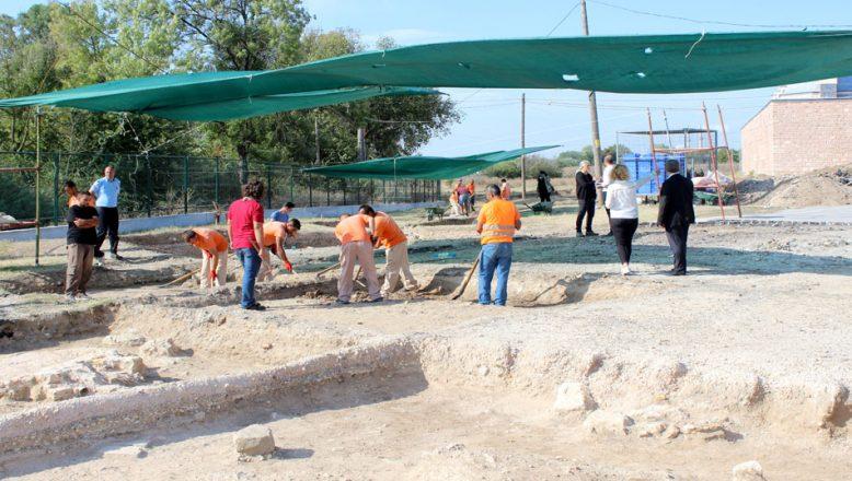 Edirne Sarayı'nda kazılar devam ediyor