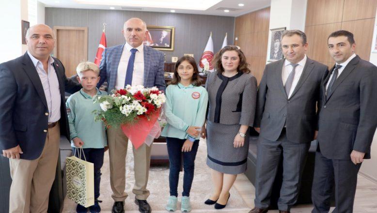 Cumhuriyet Başsavcısı Karakoç'a teşekkür ziyareti