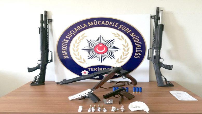 Uyuşturucu operasyonu; 10 kişi tutuklandı