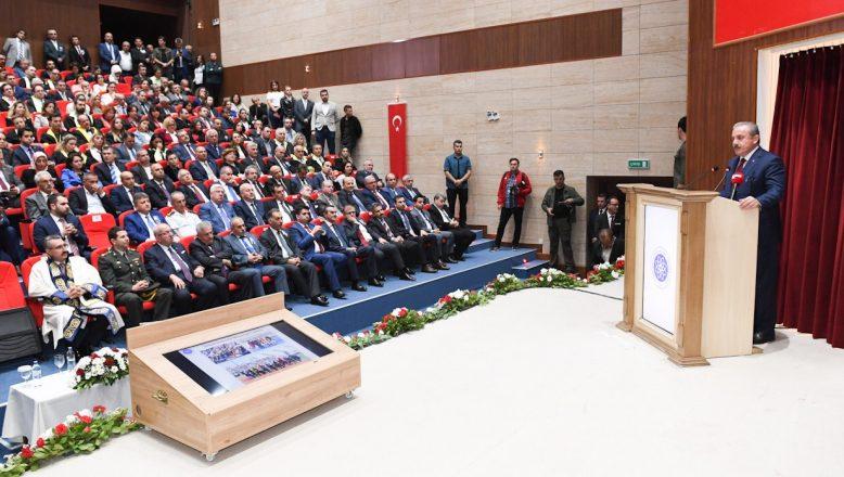 TBMM Başkanı Şentop Tekirdağ'da akademik yıl açılışına katıldı