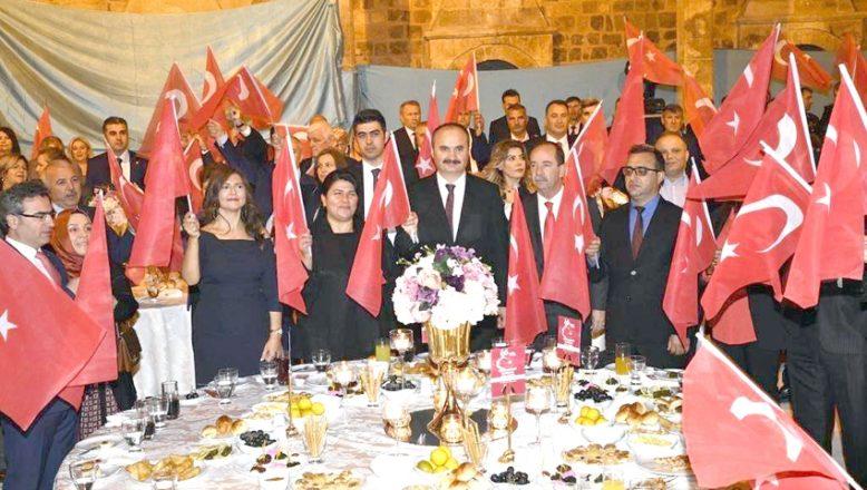Cumhuriyet Bayramı kabul töreni yapıldı