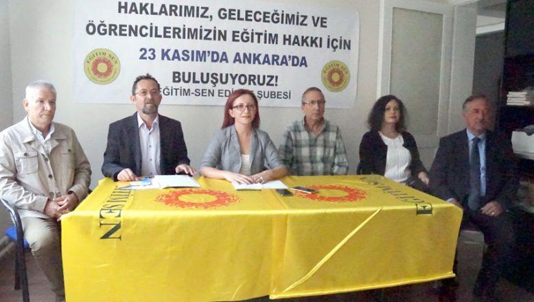 Eğitim Sen'den Ankara daveti