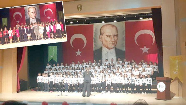 Filiz Okulları'nda Cumhuriyet coşkusu