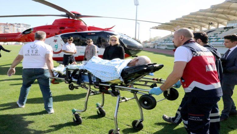 Kırklareli'nde pekmez kazanına düşen kişi yaralandı