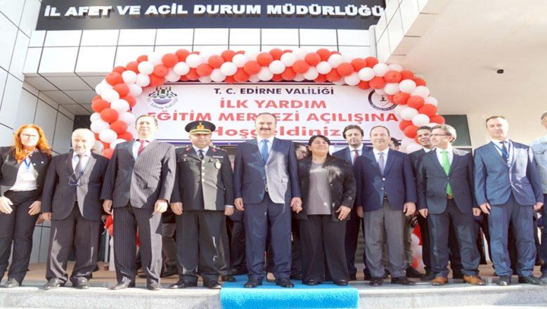 Türkiye'de ilk merkezEdirne'de