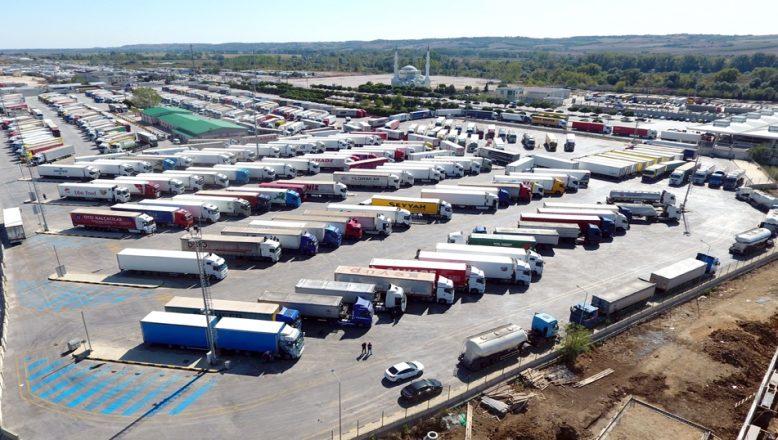 Edirne'de ekim ayında 4,3 milyon dolar ihracat gerçekleşti