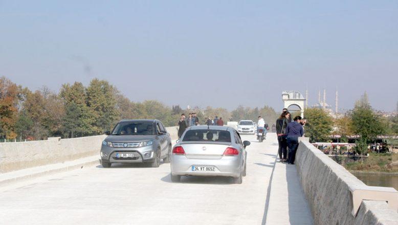 Meriç Köprüsü araç trafiğine açıldı