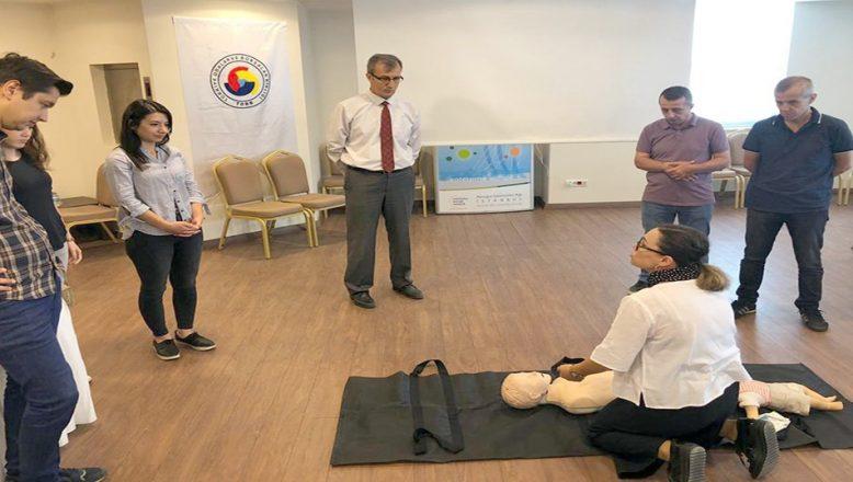 PTT personeline ilk yardım eğitimi