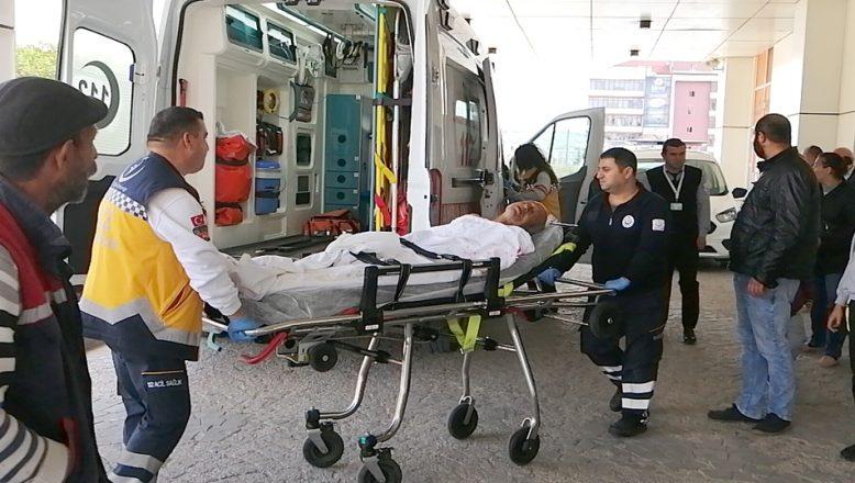 Tekirdağ'da park etme kavgası: Biri bebek 4 yaralı