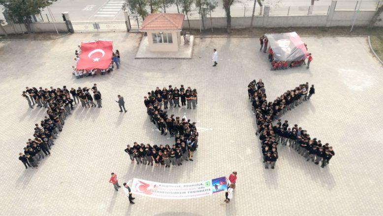 """Mehmetçiğe destek için """"TSK"""" koreografisi oluşturdular"""