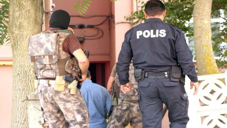 Terör operasyonunda 18 gözaltı