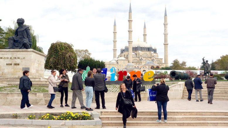 Edirne turizmde zirveyi zorluyor